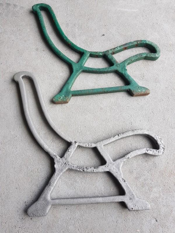 element przed i po czyszczeniu